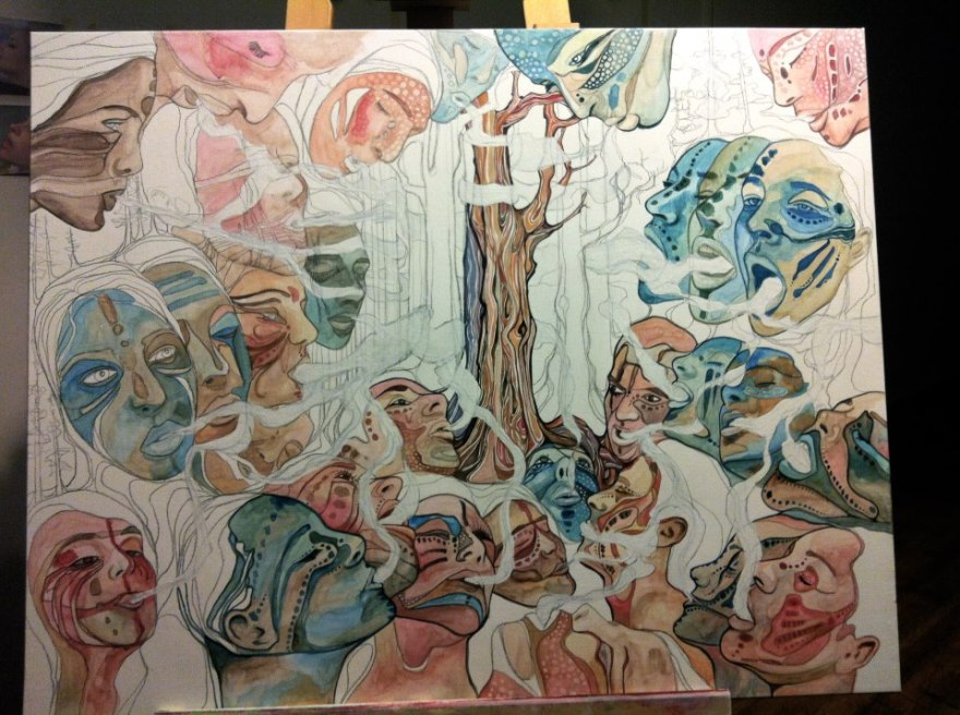 work in gorgeous progress by Canadian artist, Tamara Phillips http://tamaraphillips.ca/home.php