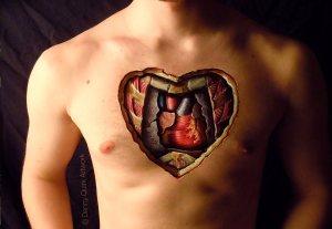 actual heart